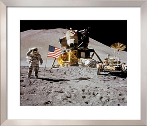 Space Walk framed print from Art.com