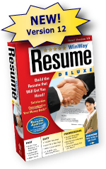 WinWay(c) Resume Deluxe is the Best Resume-Builder Software on the Market