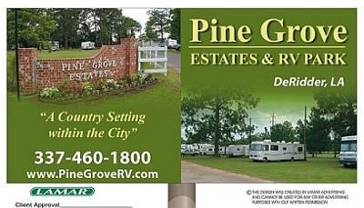 Pine Grove RV Park, Lake Charles LA