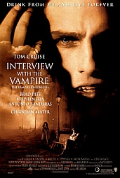 Vampire Interview Poster courtesy of Art.com