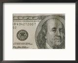 Benjamin Franklin Portrait, courtesy of Art.com