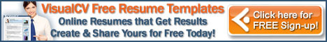 Begin Your Free & Easy Online Resume
