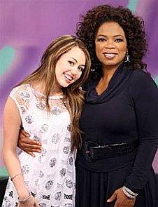 Miley (aka Hannah, M.) & Oprah