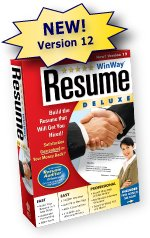 WinWay Resume Deluxe, The Premier Resume Builder Software