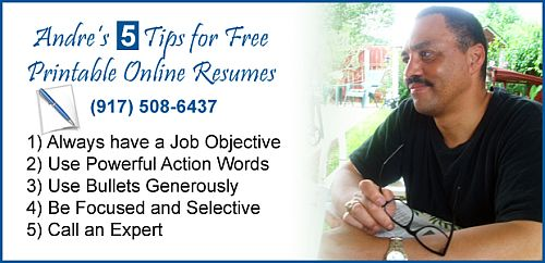 Resume Tips from eResumes4Vips.com